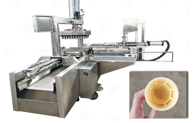 Stainless Steel Ice Cream Cones Wafer Cup Making Machine 1000KG