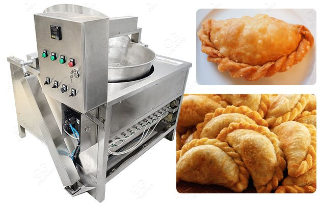 South America Saltenas Empanadas Frying Machine Industrial Use