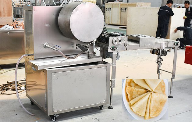 Industrial Use Crepe Making Machine For Sale 500-1000PCS/H