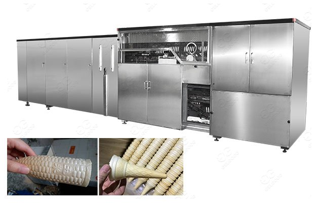 <b>380V Industrial Ice Cream Cone Production Line Manufacturer</b>