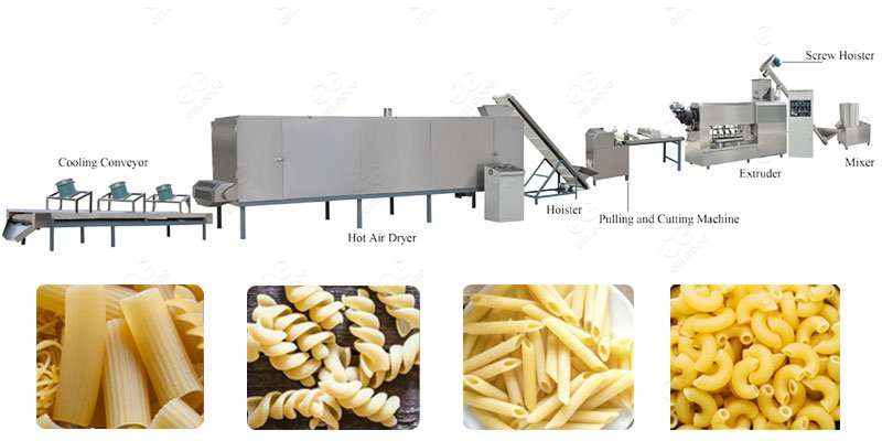 Automatic Macaroni Production Line For Bucatini Business