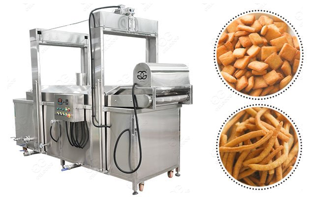 Continuous Nigeria Chin Chin Frying Equipment Price