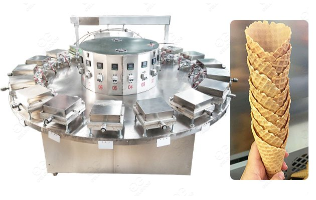 Low Price Rolled Sugar Cone Making Machine for Semi Automatic