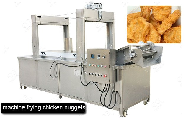 Machine for Frying Chicken Nuggets with 300KG/H