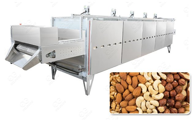 Stainless Steel Nuts Roasting Machine For Commercial Use