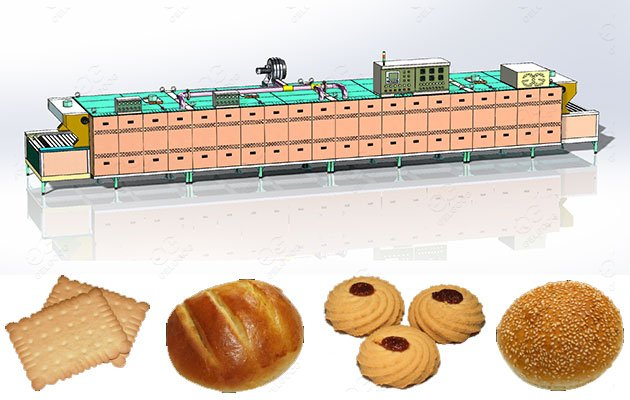 Industrial Bakery Tunnel Oven for Baking Bread & Biscuit