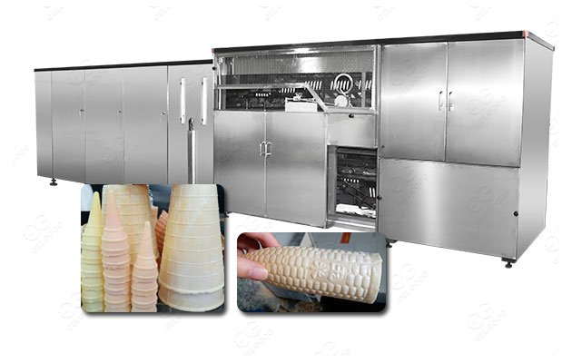 <b>Large Automatic Wafer Cone Production Line Low Price For Sale</b>