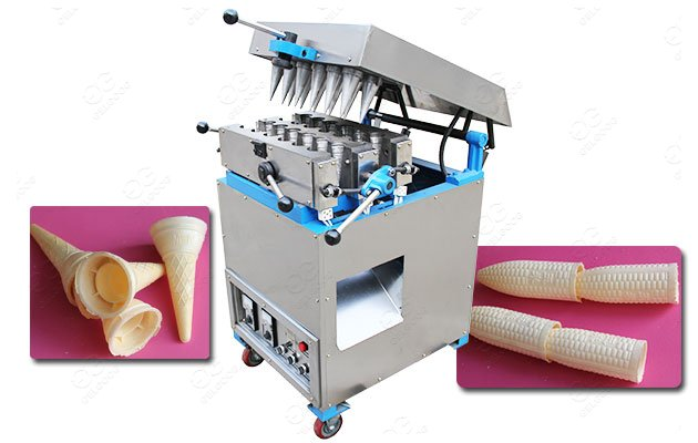 <b>12 Mould Commercial Ice Cream Cone Maker Machine For Sale</b>