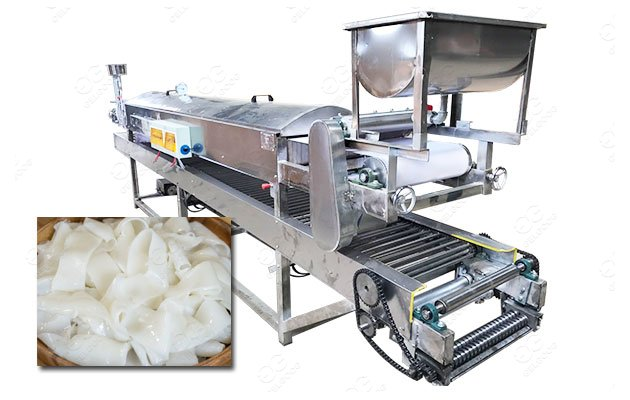 <b>Commercial Rice Noodle Making Machine for Pad Thai Production</b>