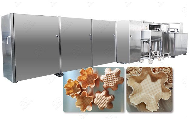 <strong>Automatic Waffle Bowl Production Line Manufacturer Customized</strong>
