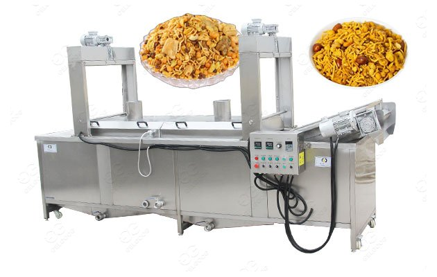 Electric Automatic Snack Frying Machine for Namkeen 150KG/H