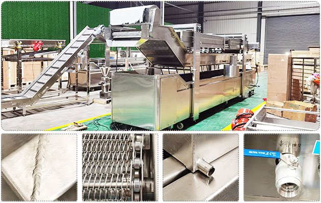 High Quality Fryer Machine for Pani Puri Frying Business