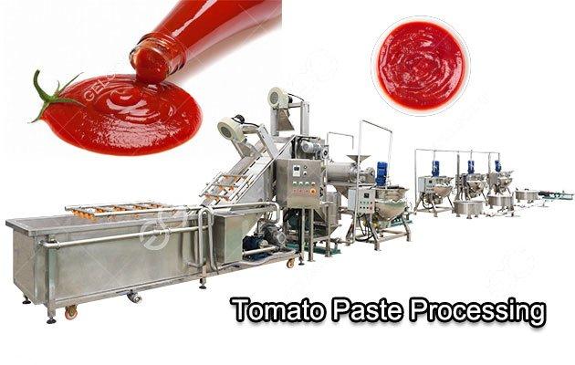 Automatic Tomato Ketchup/Sauce Making Machine Manufacturers