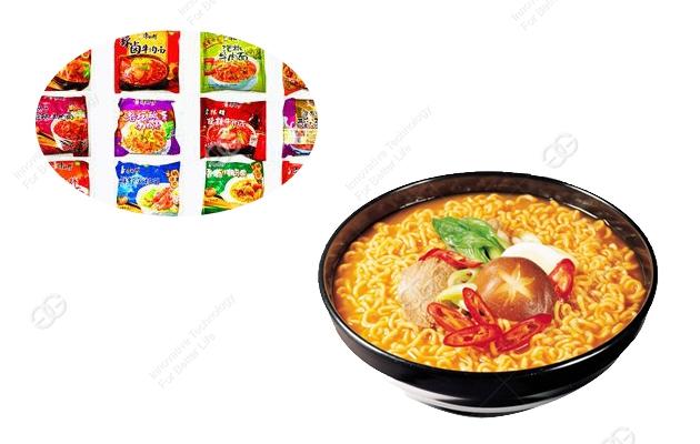 Automatic Bag Fried Instant Noodle Production Line