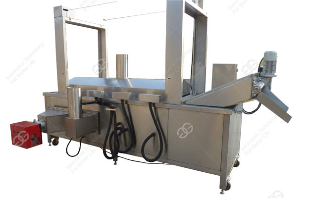 continuous automatic deep frying machine