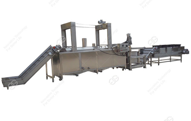 400kg/h Peanut Frying Machines For Sale
