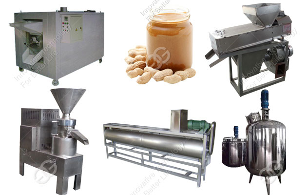 peanut butter making machine line