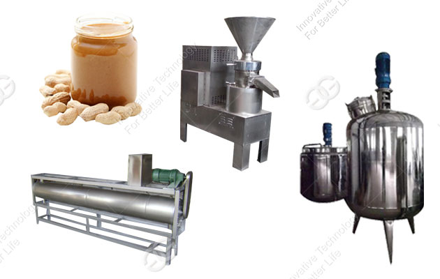 High Quality Peanut Butter Production line(300 kg/h)