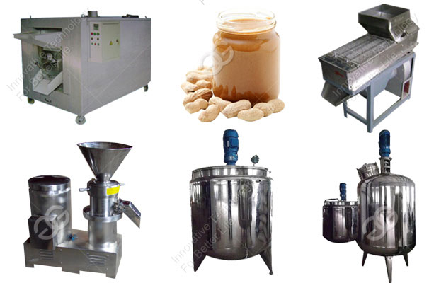 Full Automatic Peanut Butter Manufacturing Plant Cost(500 kg/h)