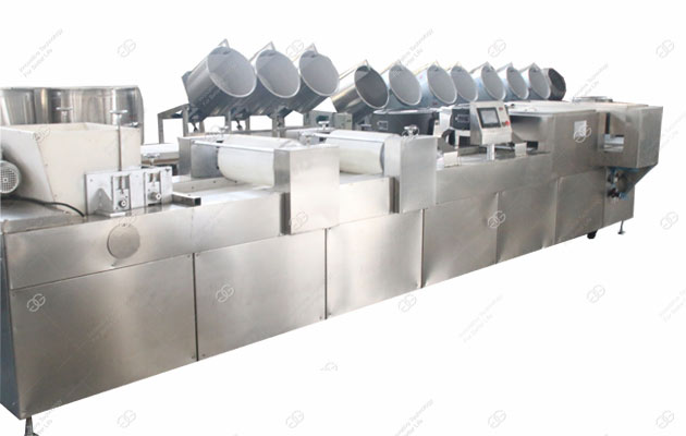 full automatic peanut brittle production line