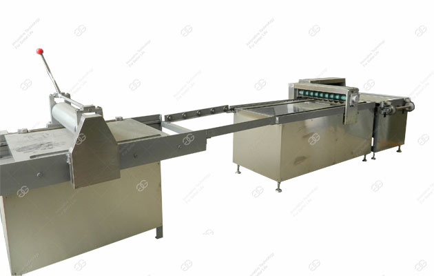 Peanut Brittle Bar Forming And Cutting Machine