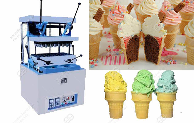 Ice Cream Cone Machine 24 Moulds