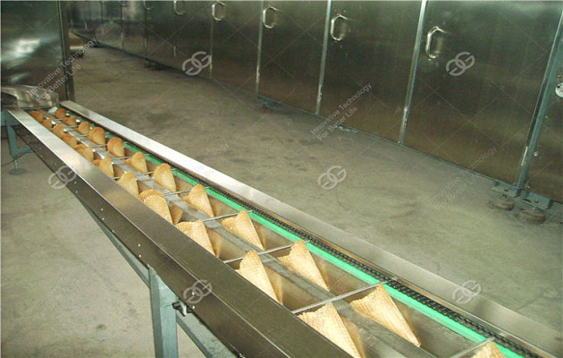 Full Automatic Ice Cream Cone production line