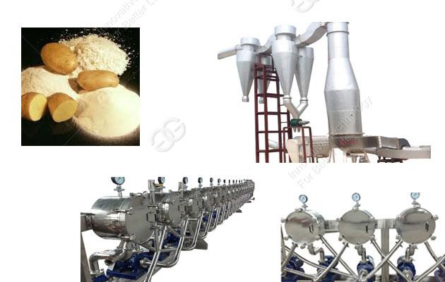 Potato Starch Processing Line 1000kg/h