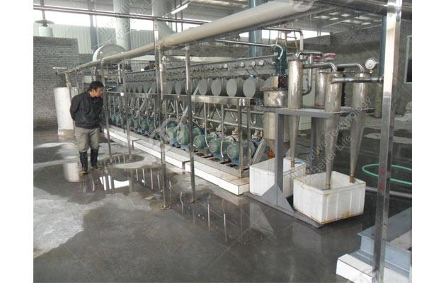 potato starch processing line