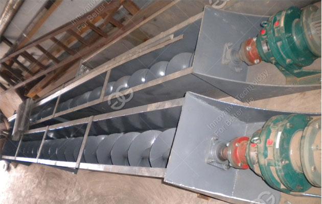 Screw Conveyor Cleaning Machine