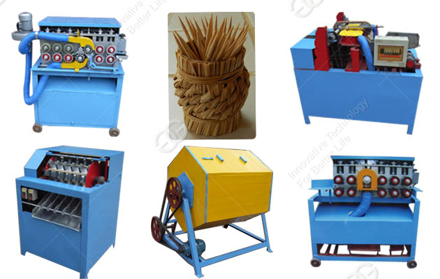 wooden toothpick processing process