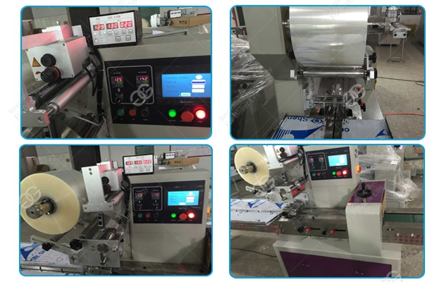Bag instant noodles packing machine