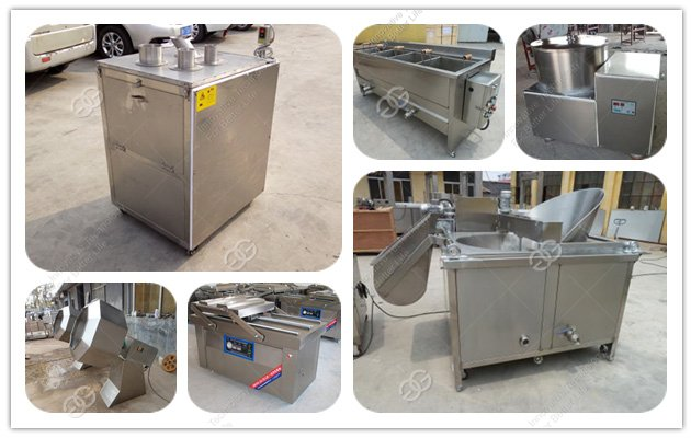 Fries frying machine has been shipped to the customer to Iran