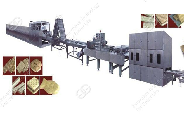 Hot sale Wafer biscuit Production Line