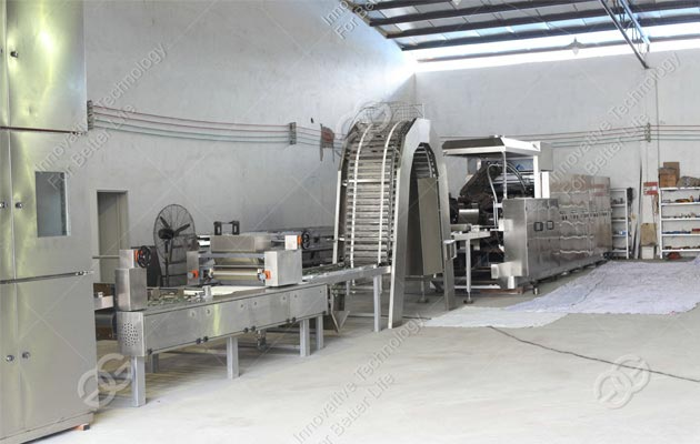 wafer biscuit production line