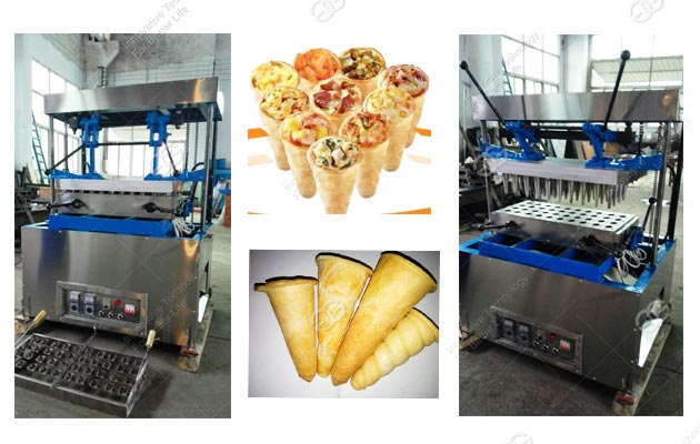Hot Sale Pizza Cone Making Machine