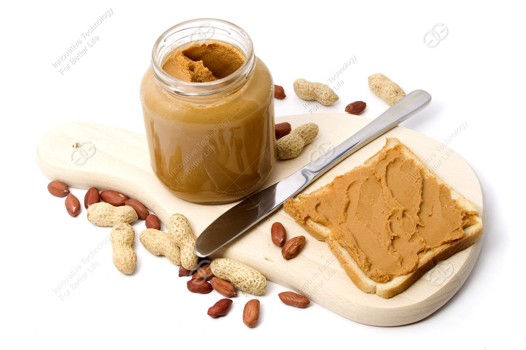 peanut butter production