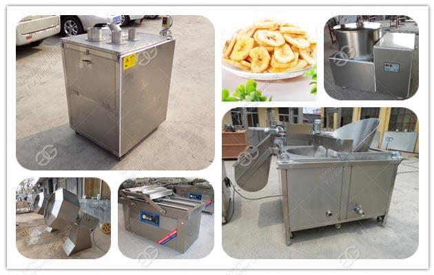 banana chips production line