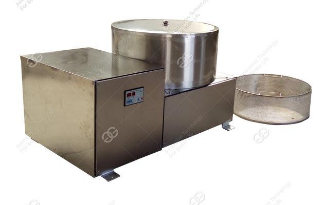 batch type dewatering machine