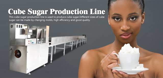 Cube sugar production line