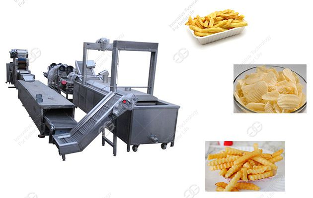 french fries machine