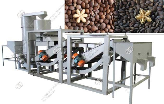 sacha inchi nut shelling machine