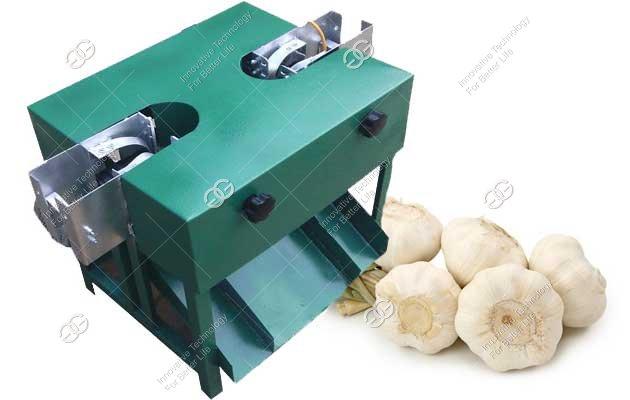 garlic root cutter machine