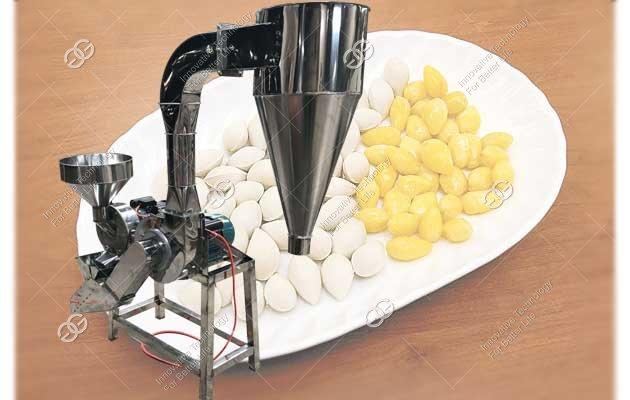 Ginkgo Husker Machine