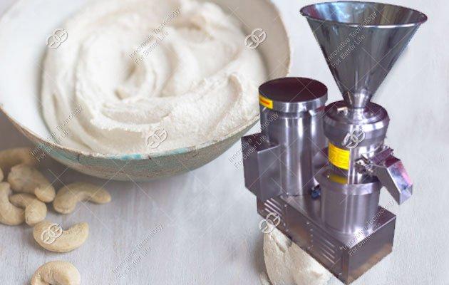 cashew sauce making machine