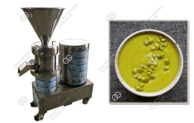 machine for grinding split peas