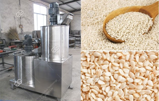 sesame peeling machine