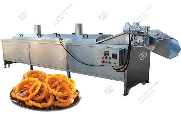 fried onion ring making machine