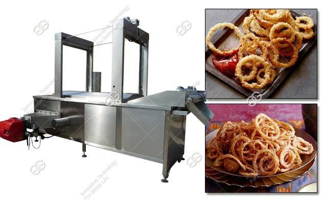 onion ring fryer machine