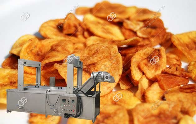 Chifles Fryer Machine